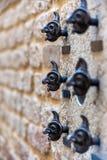 Головки стены Стоковая Фотография