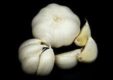 головки чеснока cloves Стоковая Фотография
