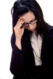 головная боль стоковая фотография
