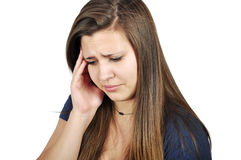 головная боль Стоковые Фото