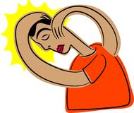 головная боль бесплатная иллюстрация