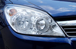 головная лампа автомобиля Стоковое Изображение