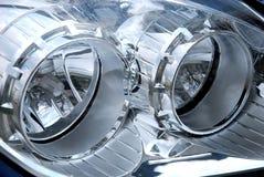 головная лампа автомобиля Стоковое Фото