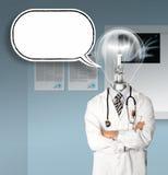 головная лампа доктора стоковые изображения