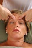 головная спа массажа стоковое изображение rf