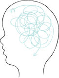 головная спираль Стоковые Фотографии RF