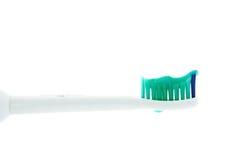 головное бортовое toothpast зубной щетки Стоковые Фото