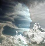 головное небо иллюстрация штока