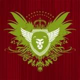 головной львев heraldry Стоковая Фотография RF
