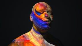 Головной разрушенный человек Стоковые Изображения RF