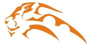головной символ льва Стоковые Фото