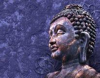 Головной усмехаясь Будда Стоковые Изображения