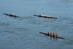 головной rowing regatta hooch Стоковые Фото
