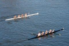 головной rowing regatta hooch Стоковые Фотографии RF