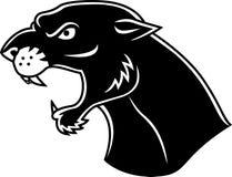 головной tattoo пантеры Стоковая Фотография