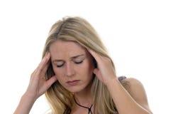 головные боли стоковое фото rf