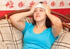 головные боли Стоковые Изображения