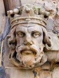 головные короля Стоковое Изображение