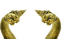 2 головных naga Стоковое Фото