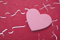 головоломка влюбленности Стоковая Фотография RF
