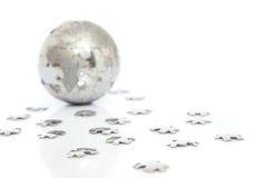 головоломка глобуса Стоковые Изображения