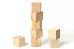 головоломка деревянная Стоковое Изображение