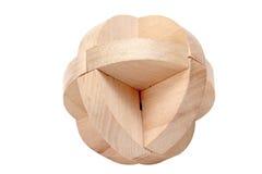 головоломка деревянная Стоковые Фото