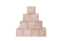 головоломка деревянная Стоковое Фото