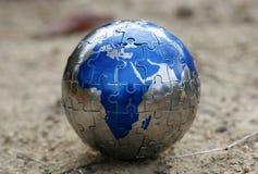 головоломка земли Стоковая Фотография
