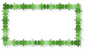 головоломка зигзага рамки Стоковые Фото