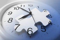 головоломка зигзага часов Стоковое Фото