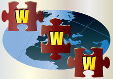головоломка зигзага www Бесплатная Иллюстрация