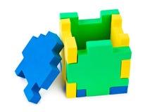 головоломка кубика Стоковое фото RF