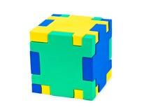 головоломка кубика Стоковое Изображение