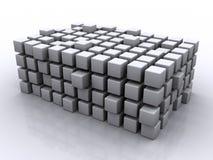 головоломка кубиков иллюстрация штока