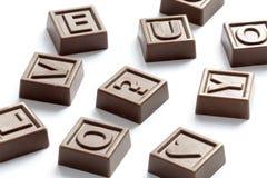 головоломка шоколада Стоковые Фото