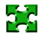 головоломка 3d Стоковое Изображение