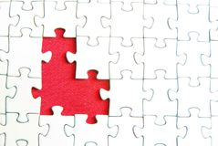 головоломки стоковое изображение rf