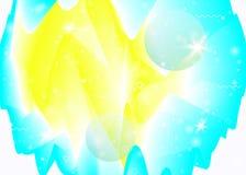 Голографическая предпосылка с живыми градиентами радуги Динамическая жидкость Hologram космоса иллюстрация штока