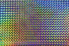 голографическое почищенное щеткой предпосылкой Стоковое фото RF