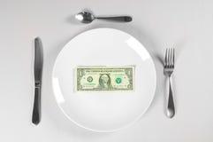 голодные деньги Стоковые Изображения