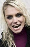 голодный вампир Стоковое Фото