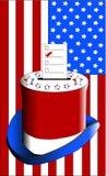голосовать шлема ballot верхний Стоковые Изображения