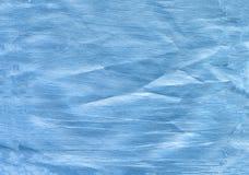 Голубая абстрактная предпосылка краски руки акварели, иллюстрация растра Иллюстрация вектора
