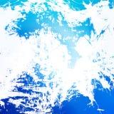 Голубая абстрактная предпосылка Стоковые Фотографии RF