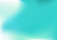 Голубая абстрактная предпосылка techno иллюстрация вектора