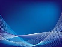 Голубая абстрактная предпосылка Стоковые Изображения RF