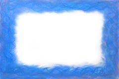 Голубая абстрактная рамка Стоковая Фотография RF