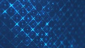 Голубая абстрактная цифровая цепь techno График движения Hi-техника иллюстрация вектора
