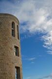 голубая башня камня неба hdr Стоковая Фотография RF